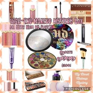 High-End Makeup Mystery Box -My Closet Edition!